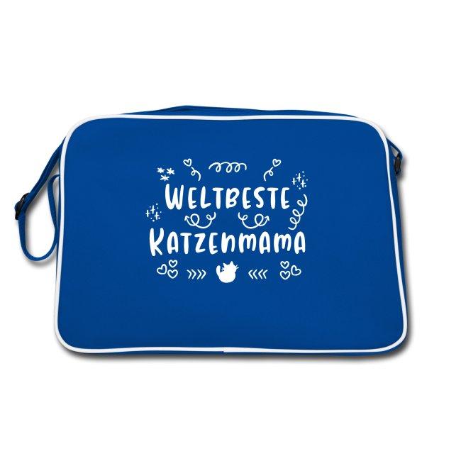 Weltbeste Katzenmama Tasche
