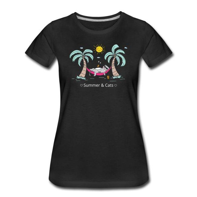 Summer & Cats T-Shirt