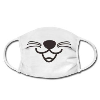 Maske Katzen Mund